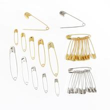 Sewing-Tools-Accessory Small-Brooch Safety-Pins Metal-Needles Gold/silver 6-12mm 50pcs