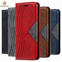 S8 S9 S10 S20FE custodia Flip in pelle Color Block per Samsung Galaxy A21S A31 A51 A71 A81 A91 A10 A20 A30 A40 A50 custodia a portafoglio