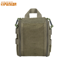 Znakomity ELITE SPANKER Outdoor Tactical torby pierwszej pomocy Molle Quick Medical Survival Pouch wojskowa torba myśliwska na zewnątrz cheap EXCELLENT ELITE SPANKER Polowanie CORDURA Outdoor Hunting Bags Tactical Hunting First Aid Bag BLK COB RGN MCP 0 17 KG