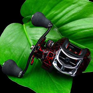 Image 2 - Rooxin Baitcasting Fishing Reel 7.1:1 18+1BB 10kg Drag Power Carp Fishing Rock Fishing Tackles Right Left Hand Water Drop Wheel