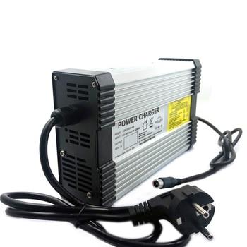 Cargador para 24V Lifepo4 14A 800W 8s 29,2 V Paquete de batería de litio de bicicleta eléctrica E-Scooter, carrito de Golf, carretilla CE ROHS 2