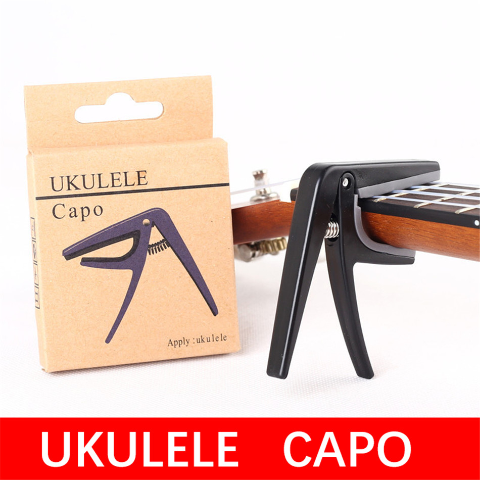 Ukulele Professional Capo IRIN 4 String Guitar Plastic Capo One-Hand Quick Replace Ukelele Capo Guitar Parts Ukulele Accessories