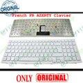 Новая клавиатура для ноутбука Sony VPC-EB VPC EB EB11 EB12 EB15, белая с рамкой, Французская клавиатура AZERTY FR-148793441 V111678B