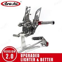 Arashi repose pieds réglable pour moto HONDA CBR1000RR 2004 2017, chevilles arrière, CBR1000 CBR 1000 RR 2008, 2009, 2010 et 2011