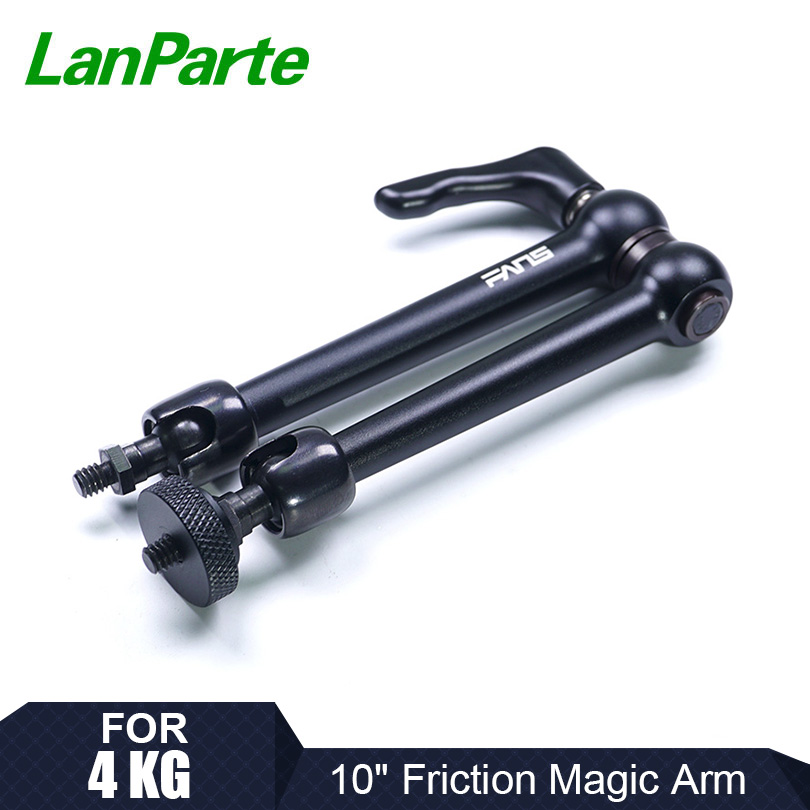 LanParte 10'' Friction Magic Arm Monitor Articulating Arm With 4KG Load Capacity