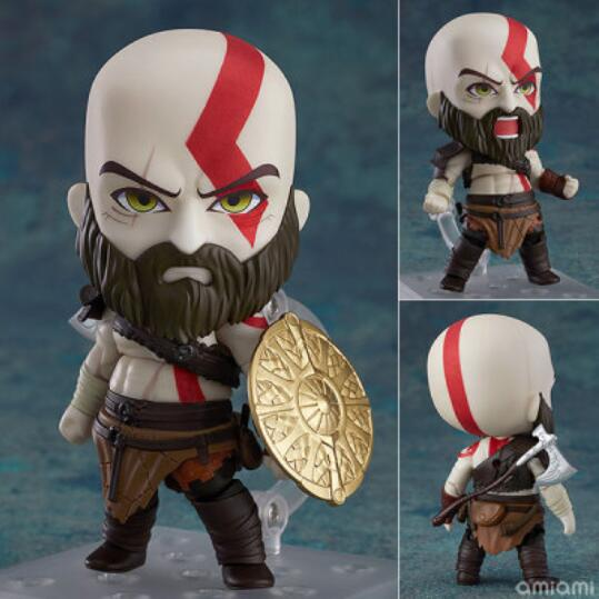 10cm God Of War Kratos Action Figure Toys Collection Doll Christmas Gift With Box