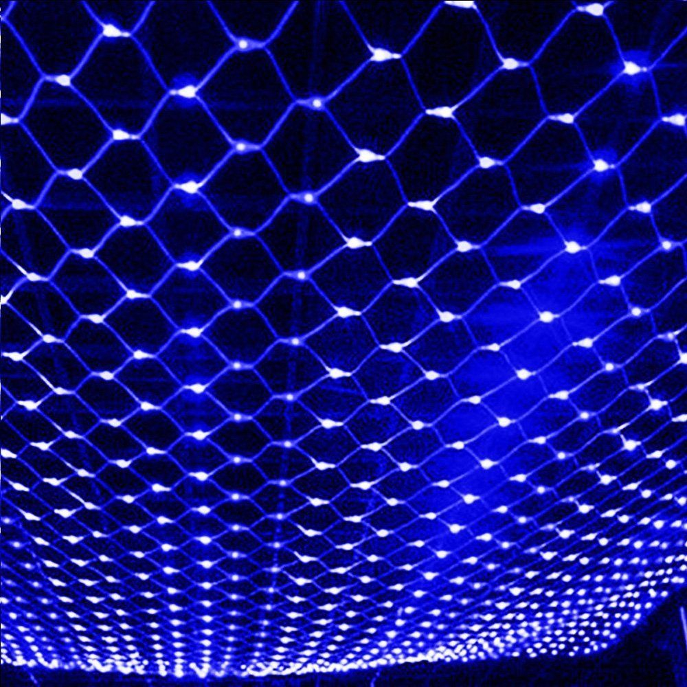 1.5x1.5/3x2/6x4M LED String Fish Net Light String LED Mesh Grid Light String On Window LED String For Garden NewYear Christmas