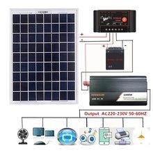 Система питания солнечной панели 18 в 20 Вт + цифровой контроллер