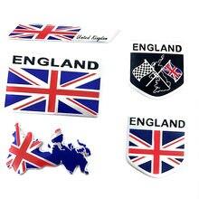 Adesivo de alumínio para veículos, acessórios de motocicleta exterior, grande grã-bretanha, reino unido, reino unido, inglaterra, bandeira nacional