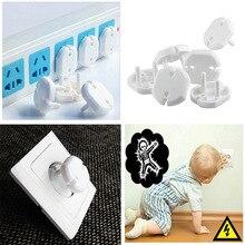 10Pcs/20Pcs 안전 콘센트 플러그 커버 어린이 아기 전기 증거 충격 가드 모자