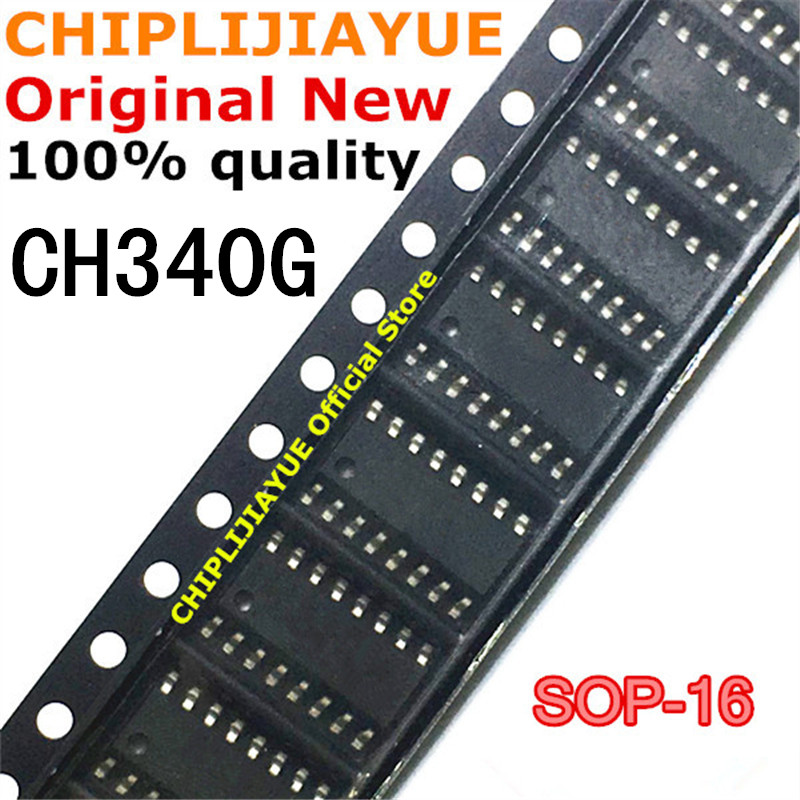 5PCS CH340G SOP16 CH340 SOP-16 340G SOP SMD new and original IC Chipset