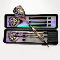 Dardos electrónicos de punta suave, flecha profesional con eje de aleación de aluminio, color púrpura, 18g