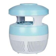 цена на Electronic Mosquito Trap Anti Mosquito Lamp Led Mosquito Killer Lamp Pest Control(Blue)