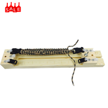 Simple Manual DIY Umbrella Shaped Rope Outdoor Bracelet Raw wood is used as raw material weaving Woven Frame Jewelry Tool(China)