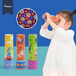 Mideer Kids Metalen Montessori Roterende Kleurrijke Caleidoscoop Lens Fantasierijke Cartoon Magic Klassieke Educatief Speelgoed Voor Kinderen