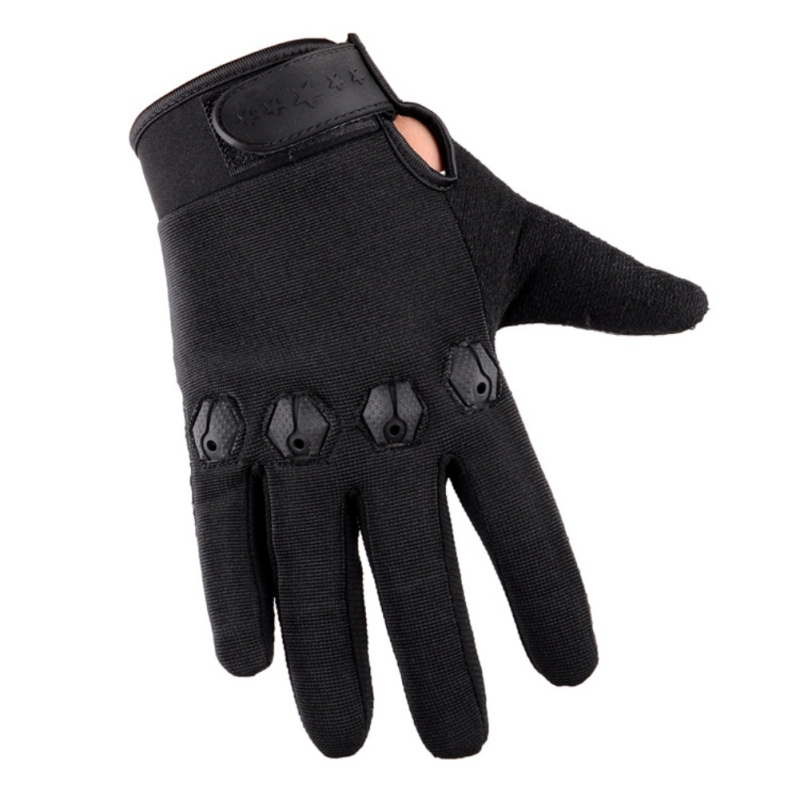 Tactical Half Finger Fishing Gloves Anti-Slip Touch Screen Hunting Camping Cycling Camouflage Outdoor Sport Fishing Equipment