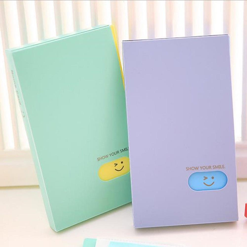 Creative New Portable 120 Pockets Card Album Lomo Card Photocard Name Card ID Holder
