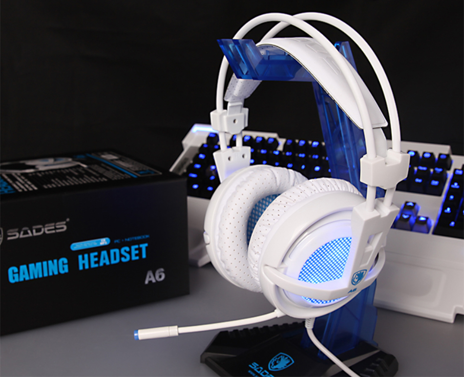 Sades A6 Wired Gaming Headset Gamer Headphones Cuitipi Technology
