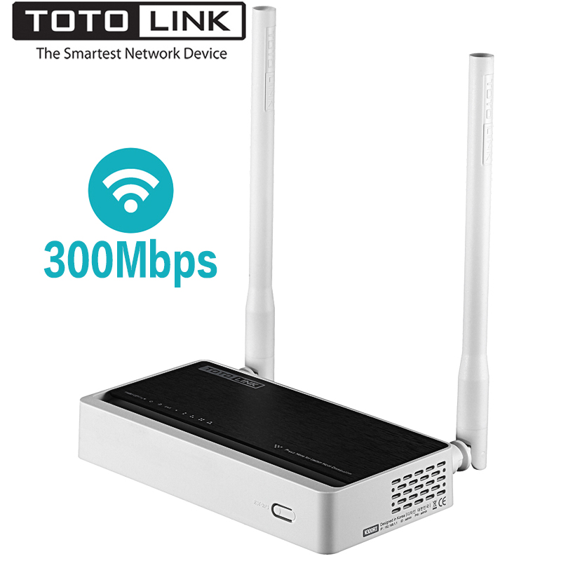 TOTOLINK N300RT 300Mbps Wireless WiFi Router,Wi-Fi Repeater for Stable Range Extender,Support VLAN for IPTV image
