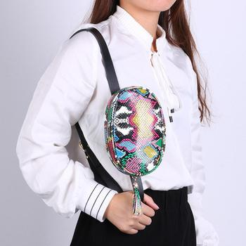 Colorful Zipper Belt Bag  2