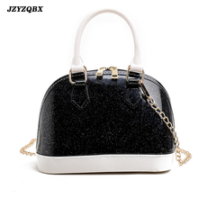 Bags For Women 2019 Jelly Shell Bag Candy Color Beach Womens Pouch Ladies Hand Metal Chain Messenger