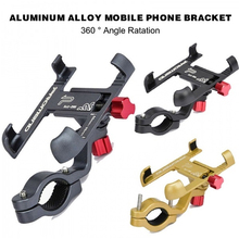 Phone-Mount-Stand Bicycle-Holder Cycling-Bracket Bike Promend Adjustable Aluminum 360