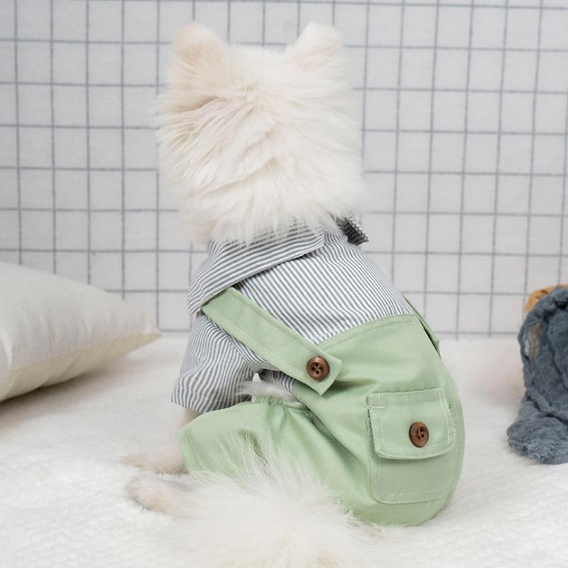 Suprepet осенне зимняя Пижама для собак Одежда маленьких Милая