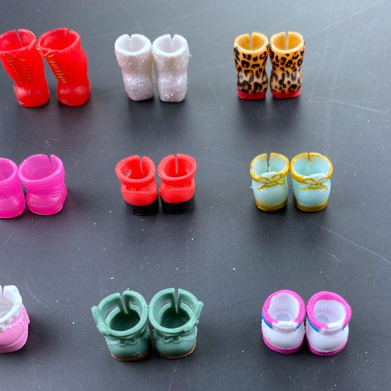Lot 5X LOL Surprise Dolls with Random Dress Shoes Bottle Gift for Girl random