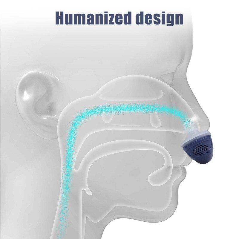 Urządzenie przeciw chrapaniu korek silikonowy Mini śpi pomoc nos otwieracz nos maszyna wymagalny bezdech senny rozwiązanie pomoc Respirator