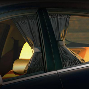 2pcs Universal Sunshade Car Curtain Car Side Window Sunshade Curtains Car-Styling Auto Windows Curtain Sun Visor Blinds Cover
