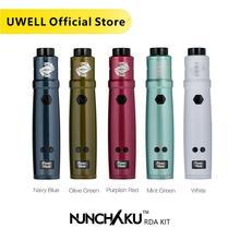 Uwell Nunchaku RDA Starter Kit 80W Powered by single 18650 battery(Without Battery) E cigarette Vape Kit