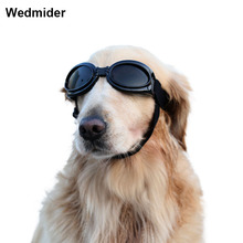 Pet Goggles Dog Sunglasses Colorful UV Eyewear Protection with Adjustable Strap for Big Dogs Waterproof and Windproof