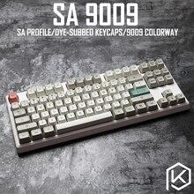9009 colorway sa profil boya alt tuş seti kalın PBT plastik klavye gh60 xd60 xd84 cospad tada68 rs96 zz96 87 104 660