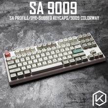 9009 كولورواي sa الشخصي صبغ الفرعية Keycap مجموعة سميكة PBT البلاستيك لوحة المفاتيح gh60 xd60 xd84 كوسبيد tada68 rs96 zz96 87 104 660