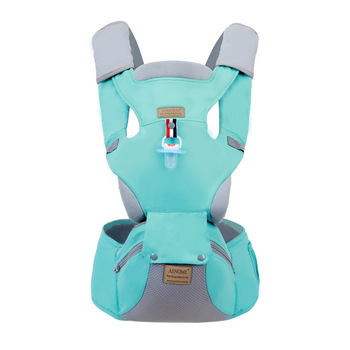 Strap waist stool multi-function four seasons universal front horizontal holding child holding stool baby back lightweight breathable baby sling waist stool backpacks carries multiple back child stool scientific design to ease the load