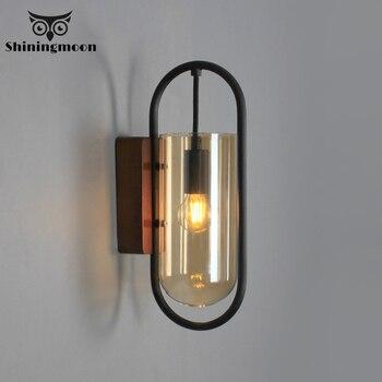 American Village Wall Lamps Industrial Decor Wall Light Bathroom Mirror Light Fixture Corridor Aisle Study room Wall Sconce Lamp