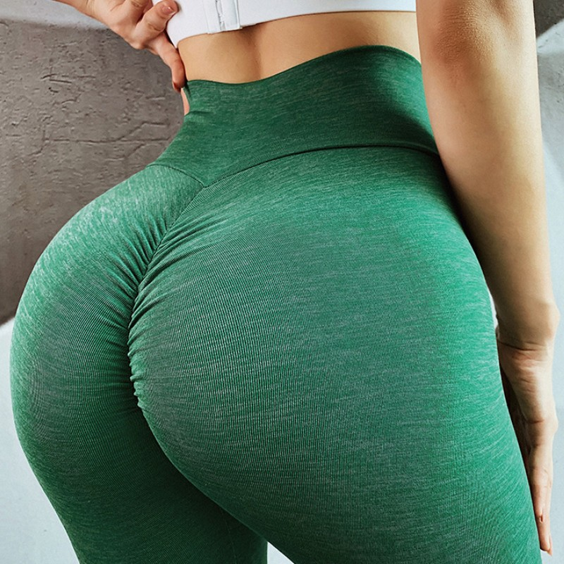 Women Training   Leggings   Polyester Quality High Waist Push Up Elastic Casual Workout Fitness Sexy Pants Bodybuilding   Legging