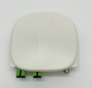 Image 2 - Receptor óptico sc apc sc/APC SC/upc, com wdm e agc, mini node, receptor óptico interno com branco caixa de plástico