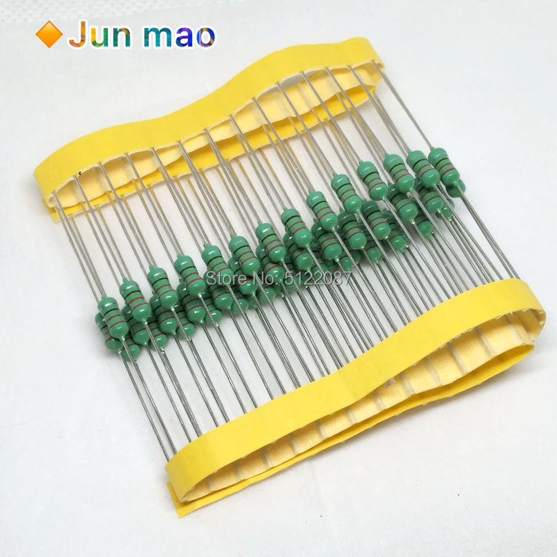 50PCS 0410 Color Ring Inductance 1uH ~ 2.2mH 0.5W Axial RF Choke Coil Inductor