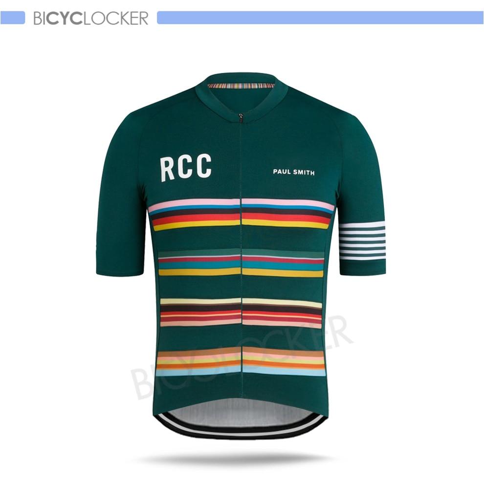 Rcc Cycling Jerseys Man Short Sleeves Paul Smith Summer Custom Shirts Team Uniform 2020 New Road Bike Tops Breathable