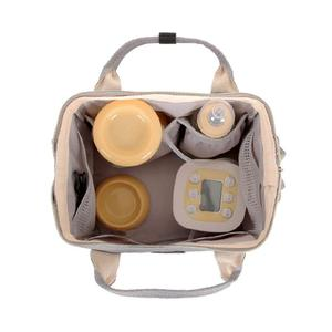 Image 5 - Fashion Mummy Maternity Diaper Bag Large Baby Bags For Mom Thermal Insulation Travel Nappy Chaning Backpack Stroller Organizer
