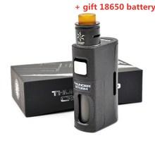 Электронная сигарета гроза BF комплект 8 мл огромный Ёмкость BF mod с двойной катушкой RDA Поддержка 18650/20700/21700 Батарея подарок 18650