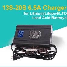 48V 60V 72V 5A Ladegerät 6,5 EINE Mit LCD Display für lithium-ionen lifepo4 LTO lipo blei säure batterys von ebike motobike Roller