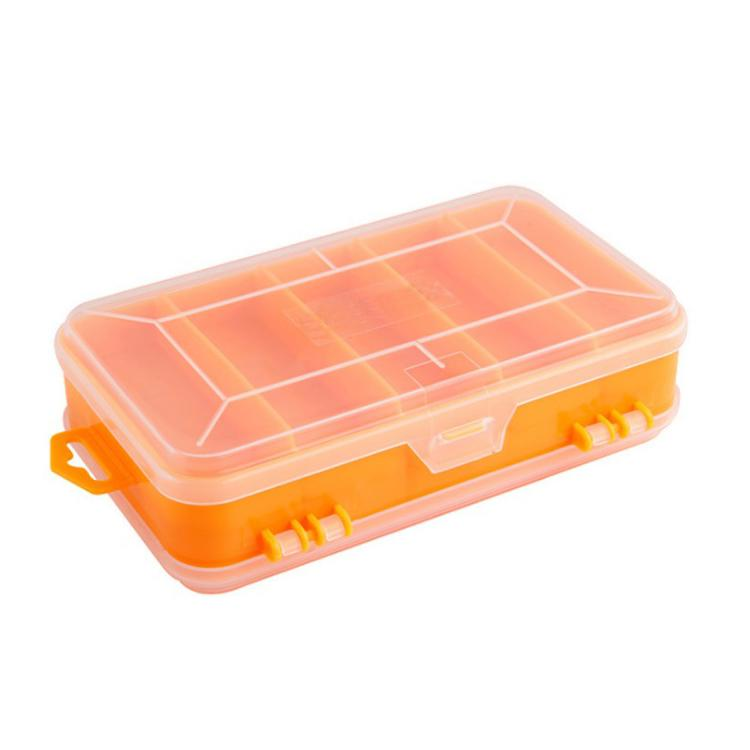 Portable Transparent Chip Screws Box Storage Tool Multifunction Tool Storage Box Plastic Case