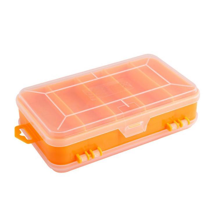 Portable Transparent Chip Screws Box Storage Tool Multifunction Tool Storage Box Plastic Case