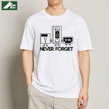 Flc Модные новые футболки мужские никогда не забывайте о флоппи