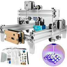 VEVOR 15W Mini Laser Engraver CNC Machine 190X130mm For Wood Leather Plastic Cutting Wood Milling DIY Woodworking Machinery