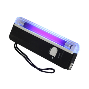 Portable With Torch UV Lamp Note Counterfeit Flashlight Money Detector Check Handheld Currency Bill Security Banknotes Passports(China)