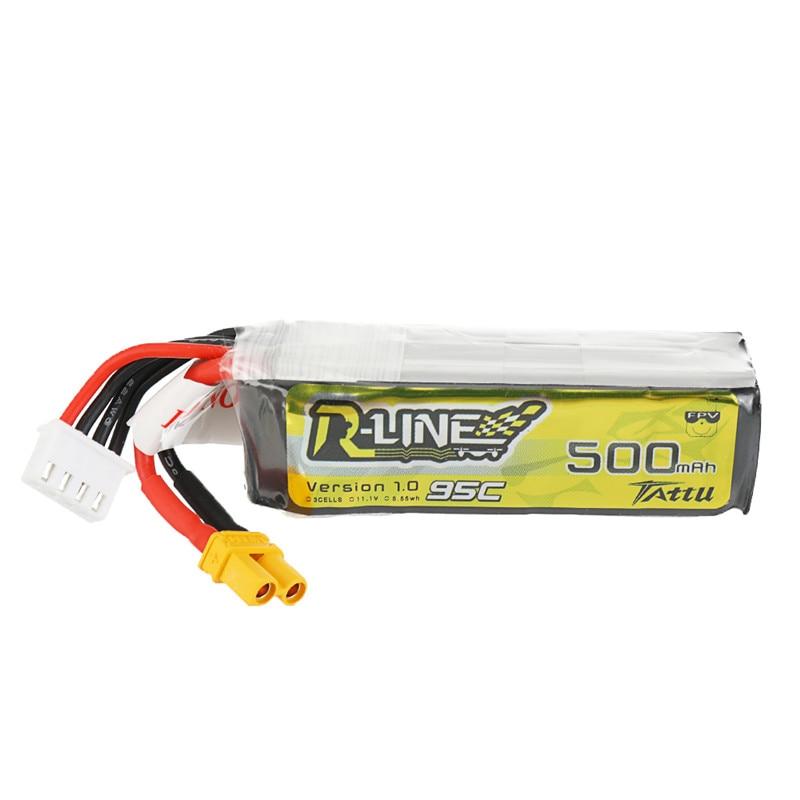 Gens Ace Tattu R-Line 1.0 2S 7.4V 500mAh 95C LiPo