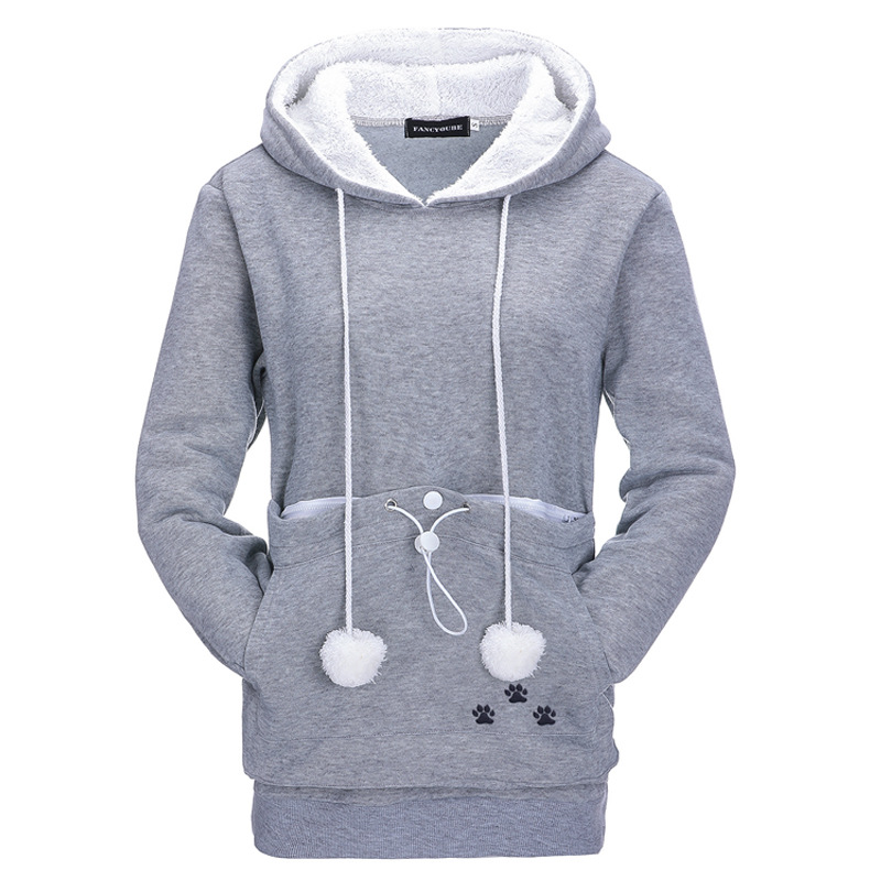 2019 Winter Autumn Hooded Pullover Women Sweatershirt Tops Pull Femme jumper